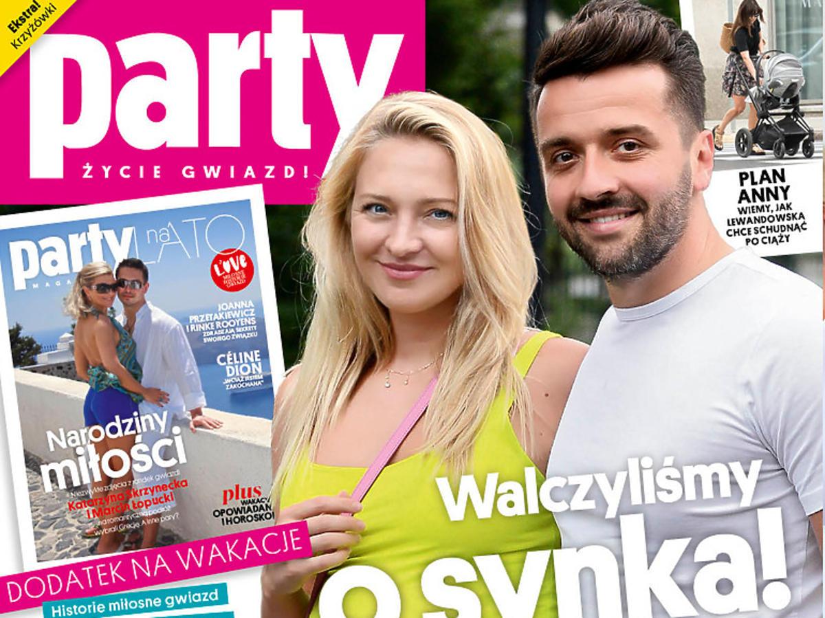 """Basia Kurdej Szatan na okładce """"Party"""""""