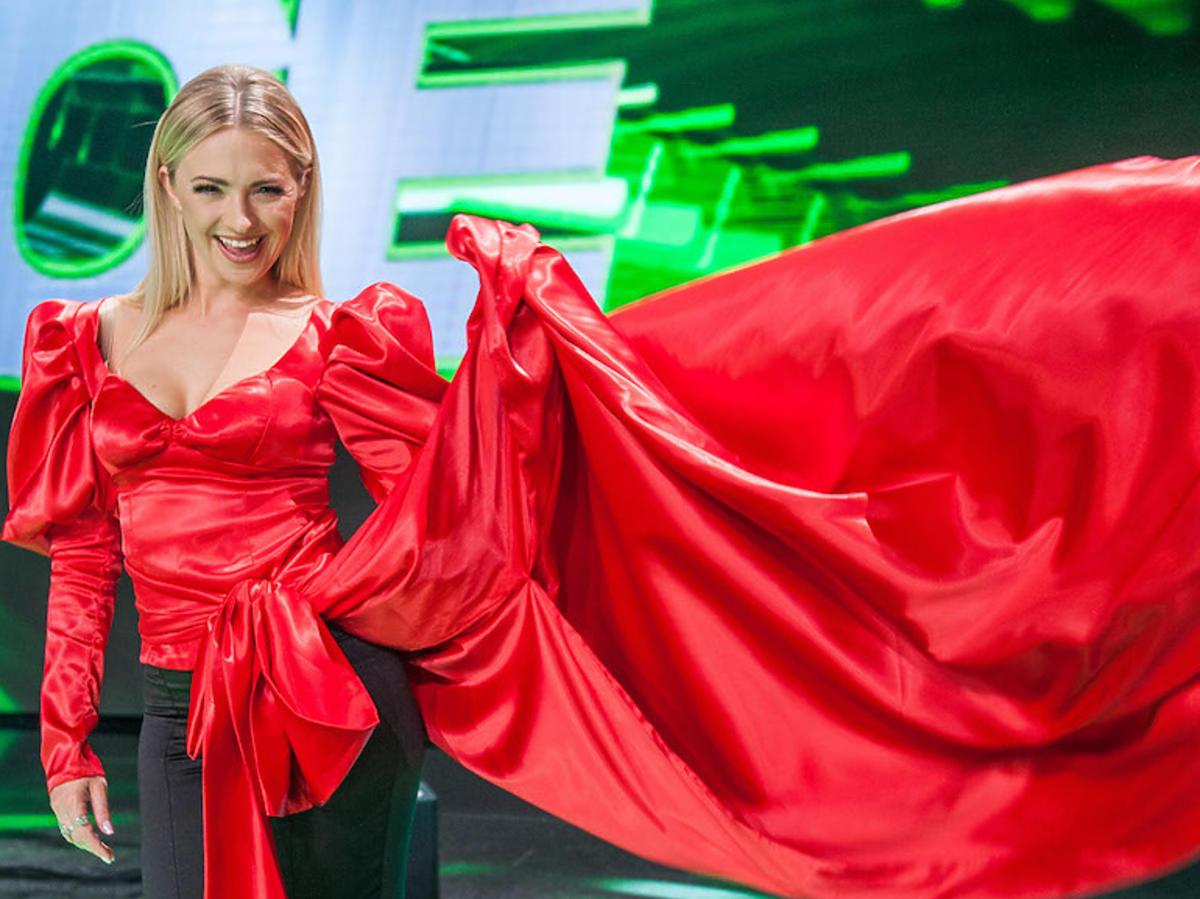 Basia Kurdej-Szatan w Dance, dance, dance