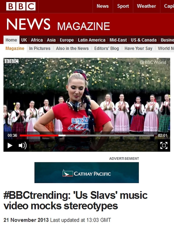 BBC o teledysku Donatana