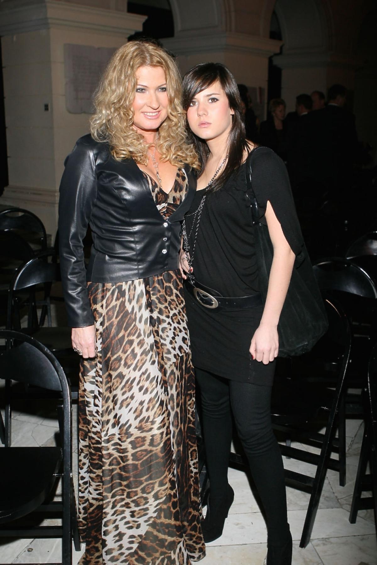 Beata Kozidrak i córką Agatą 8 lat temu
