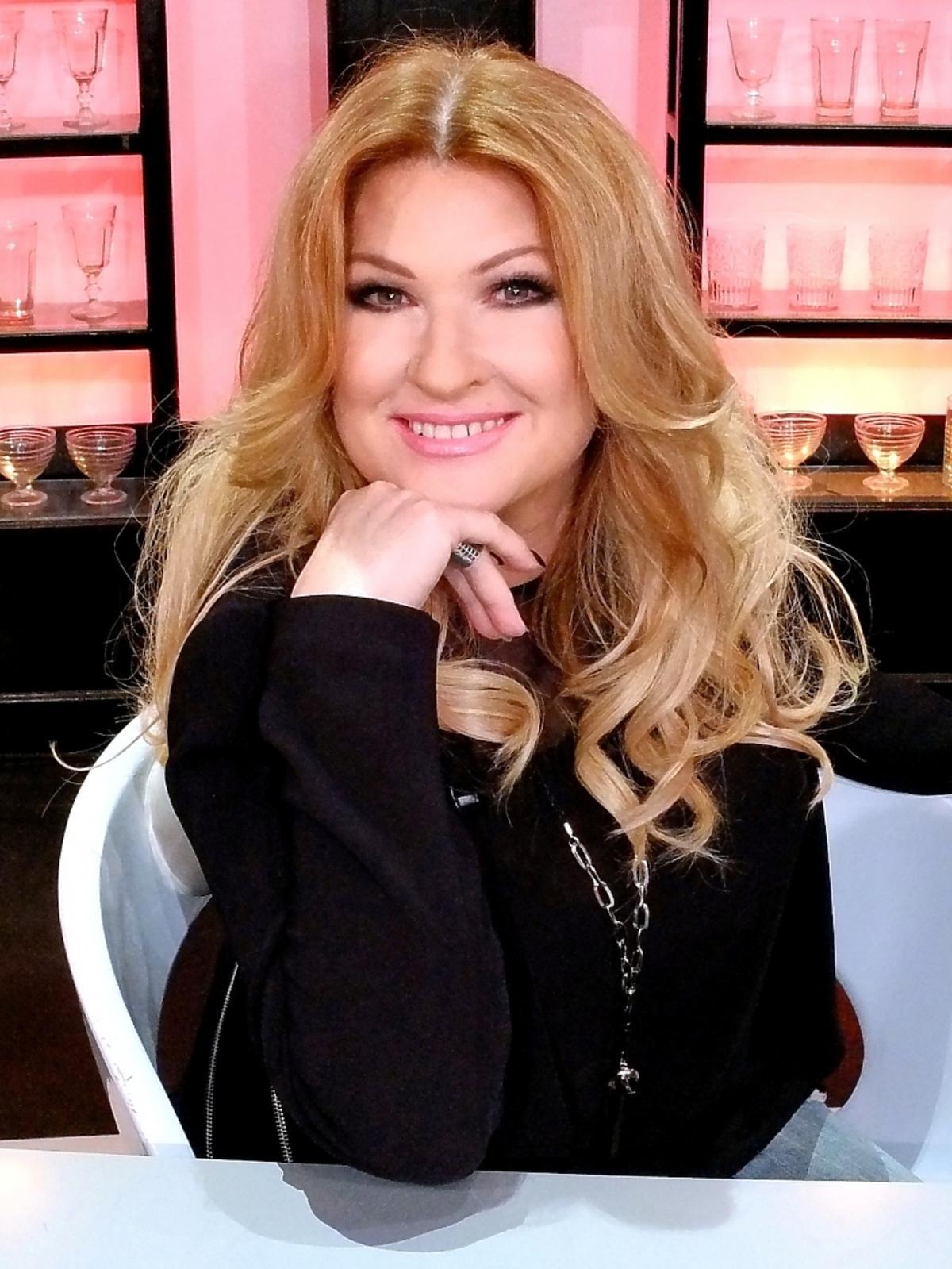 Beata Kozidrak na planie Top Chef 2