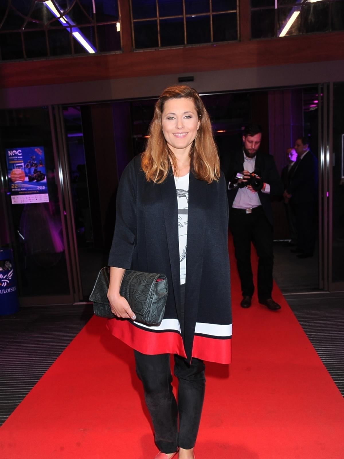 Beata Sadowska  na imprezie portalu internetowego