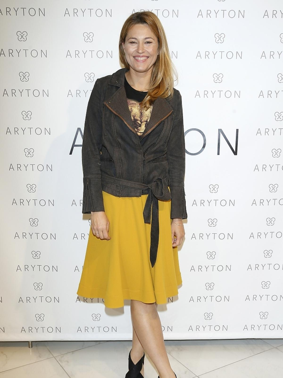 Beata Sadowska na pokazie nowej kolekcji marki Aryton