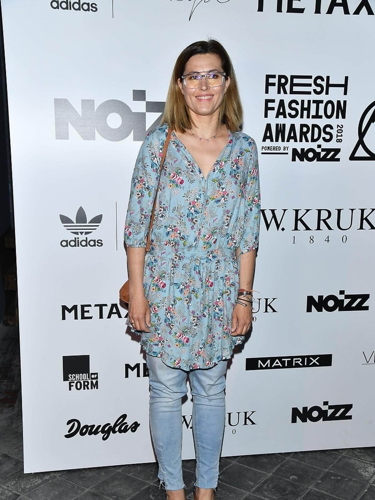 Beata Sadowska podczas finału Fresh Fashion Awards powered by Noizz