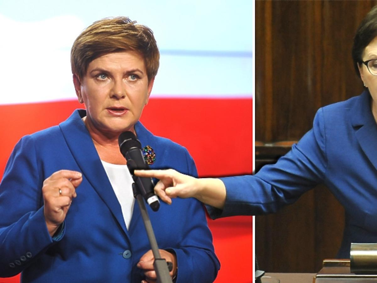 Beata Szydło, Ewa Kopacz