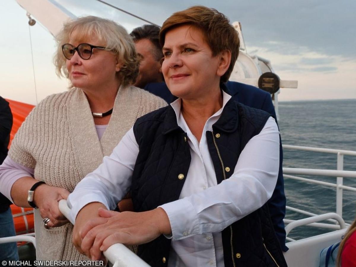 Beata Szydło podczas rejsu wycieczkowego