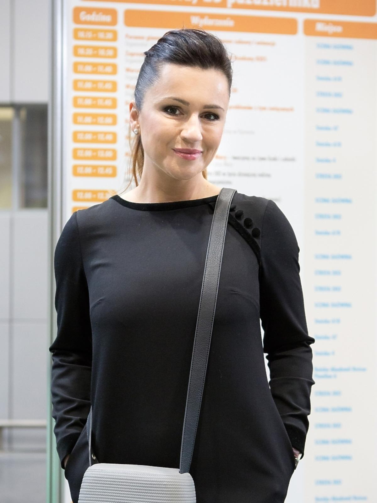 Beata Tadla na Targach Happy Baby Poznań