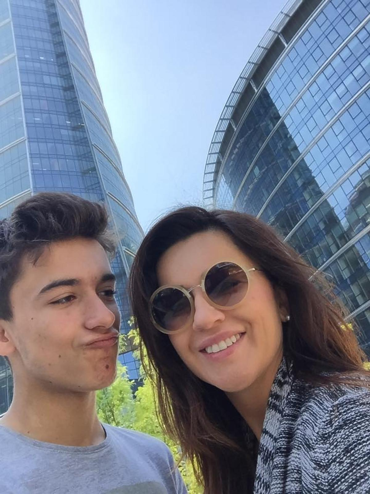 Beata Tadla pokazała syna