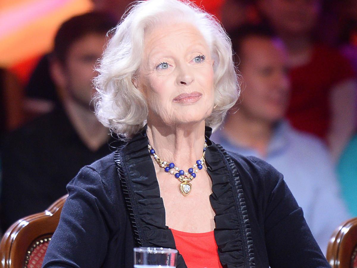 Beata Tyszkiewicz na planie Tańca z gwiazdami