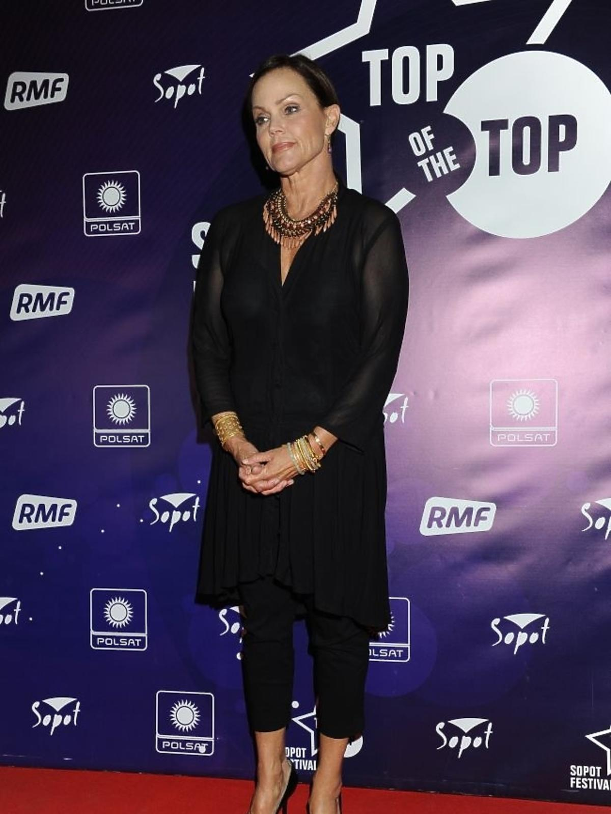 Belinda Carlisle podczas pierwszego dnia Sopot Top of the Top Festival 2013