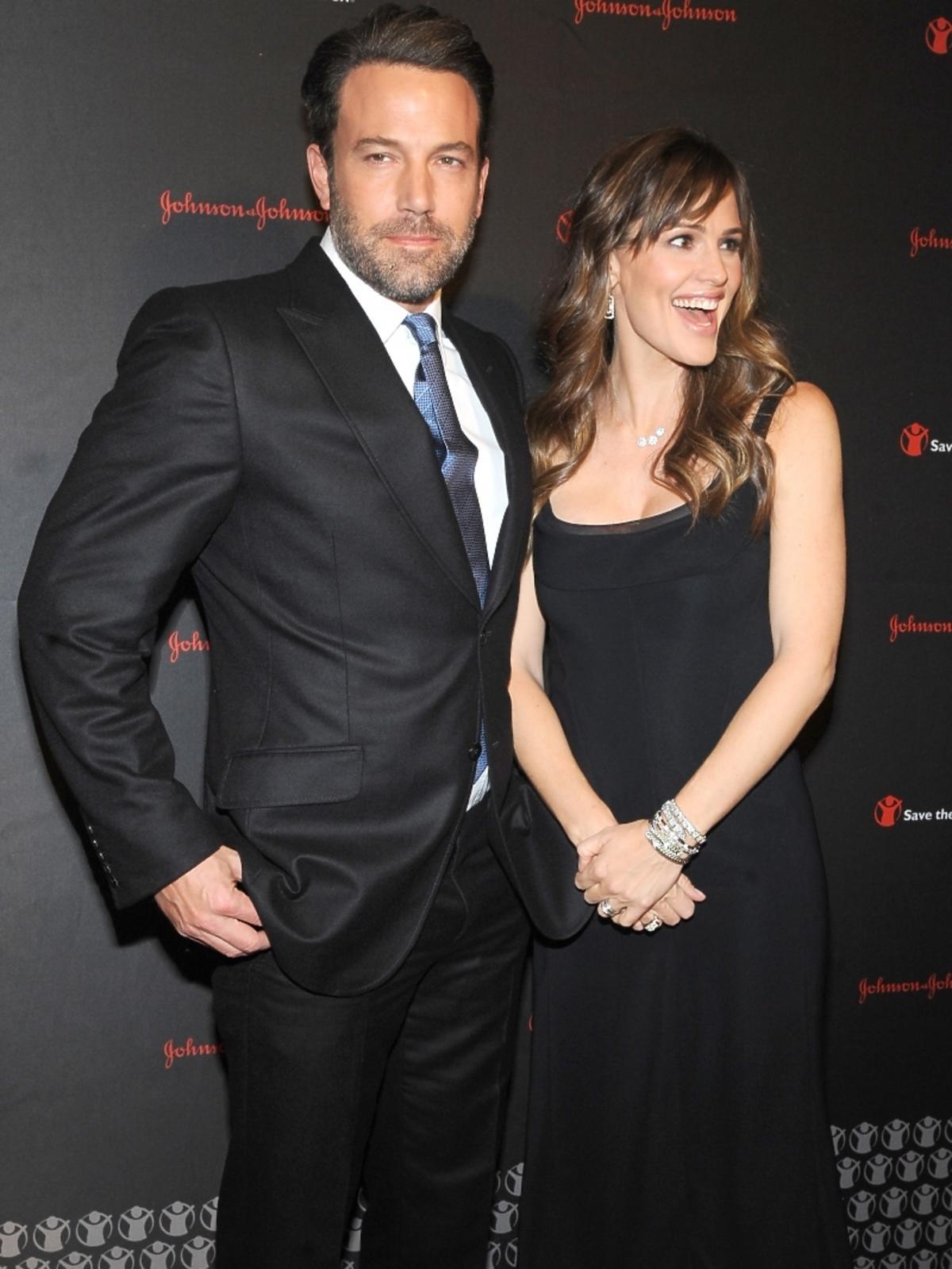 Ben Affleck i Jennifer Garner na 2. Save The Children Illumination Gala