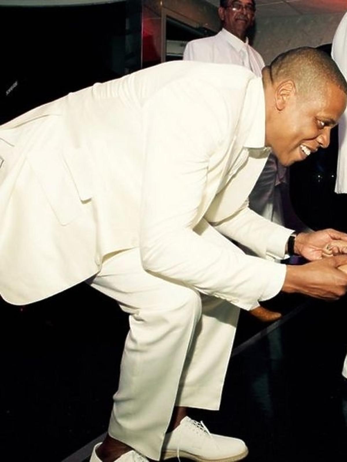 Beyonce i Jay-Z na ślubie Tiny Knowles