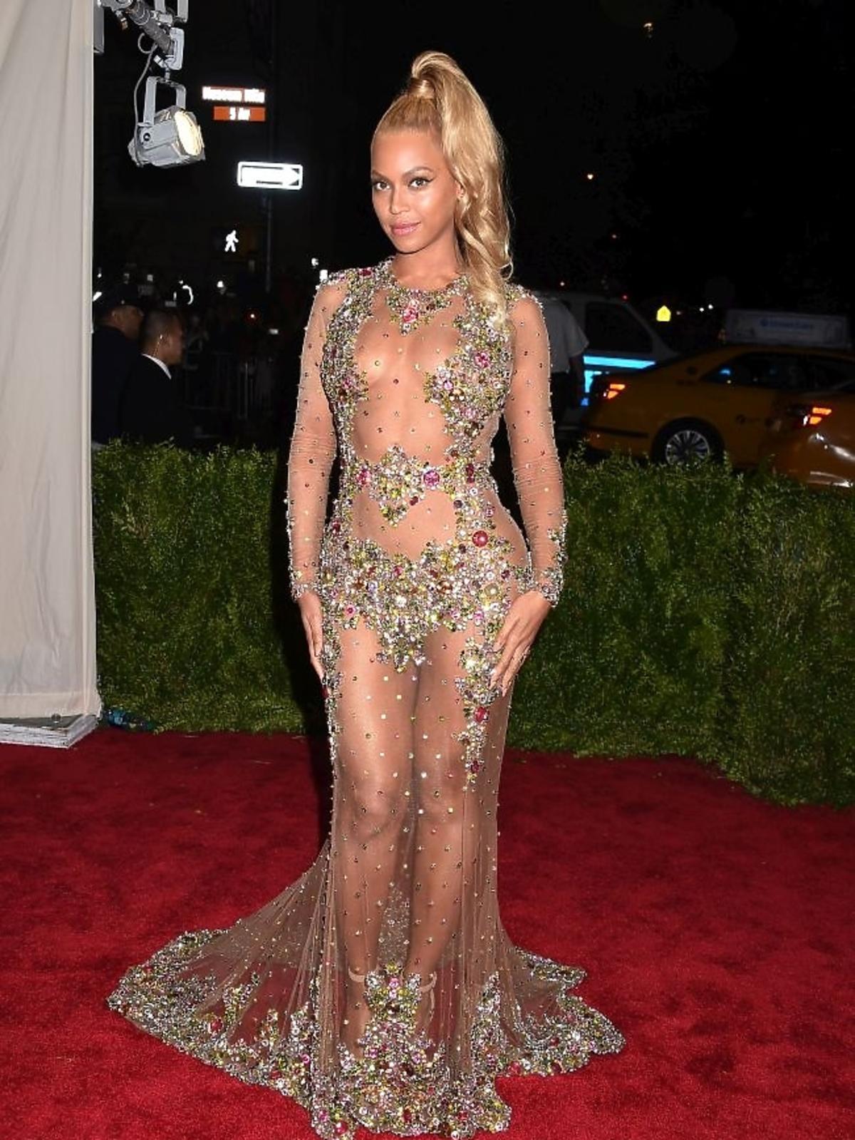 Beyonce na gali MET 2015