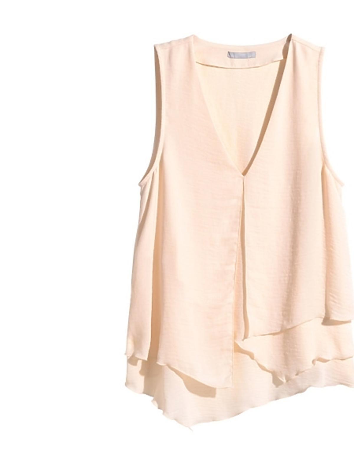 Beżowa bluzka H&M, cena
