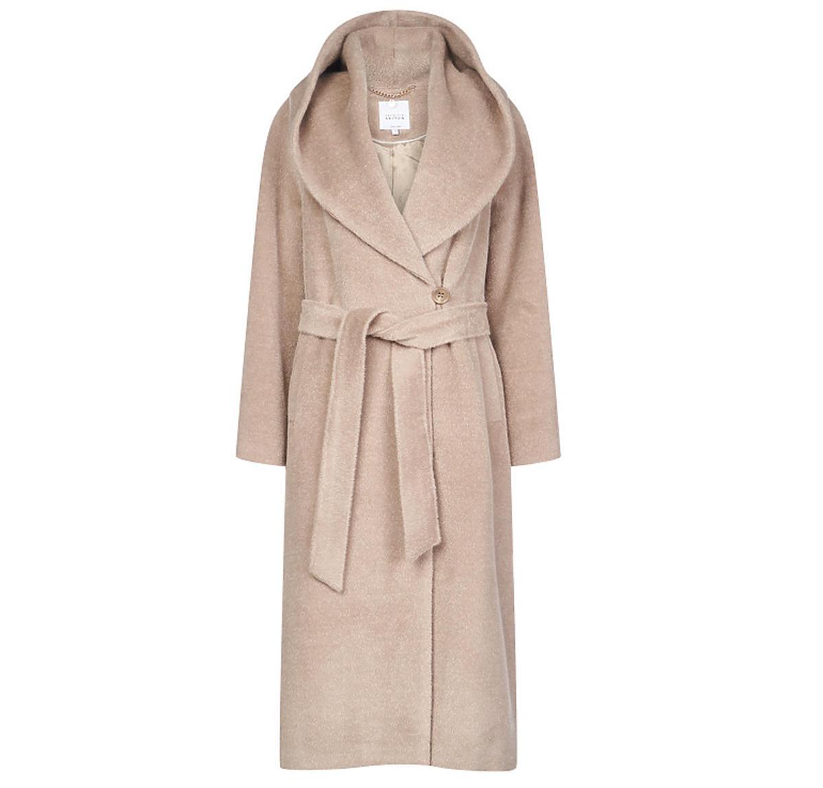 Beżowy płaszcz Aryton
