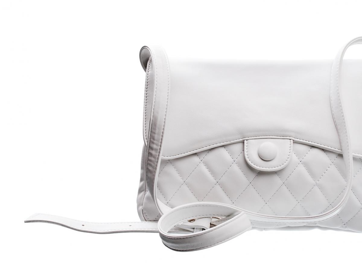 Biała, damska torebka