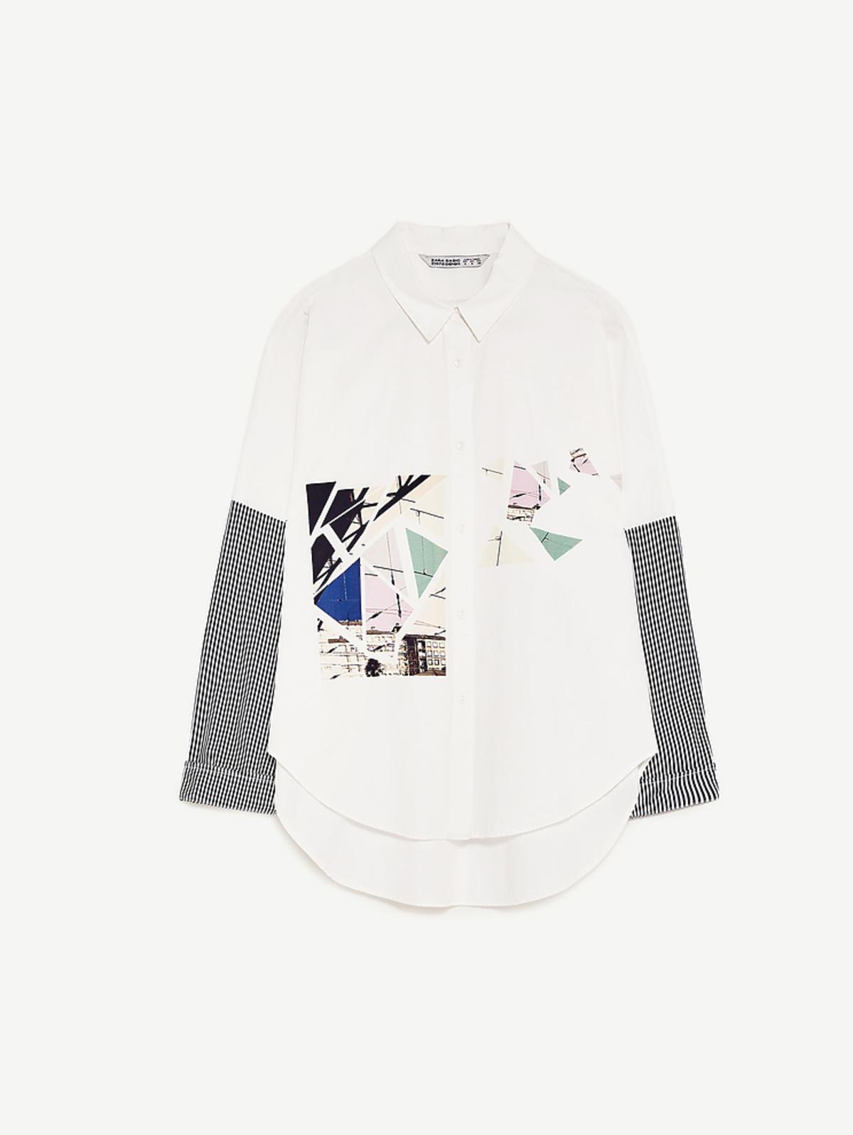 Białą koszula Zara, 119 zł