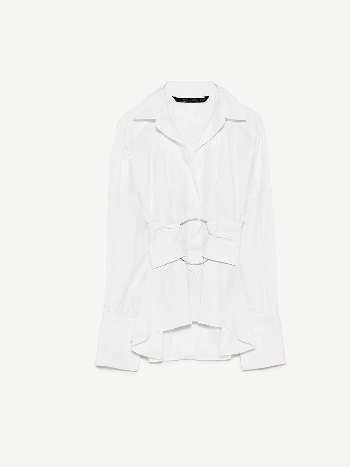 Białą koszula Zara, 199 zł