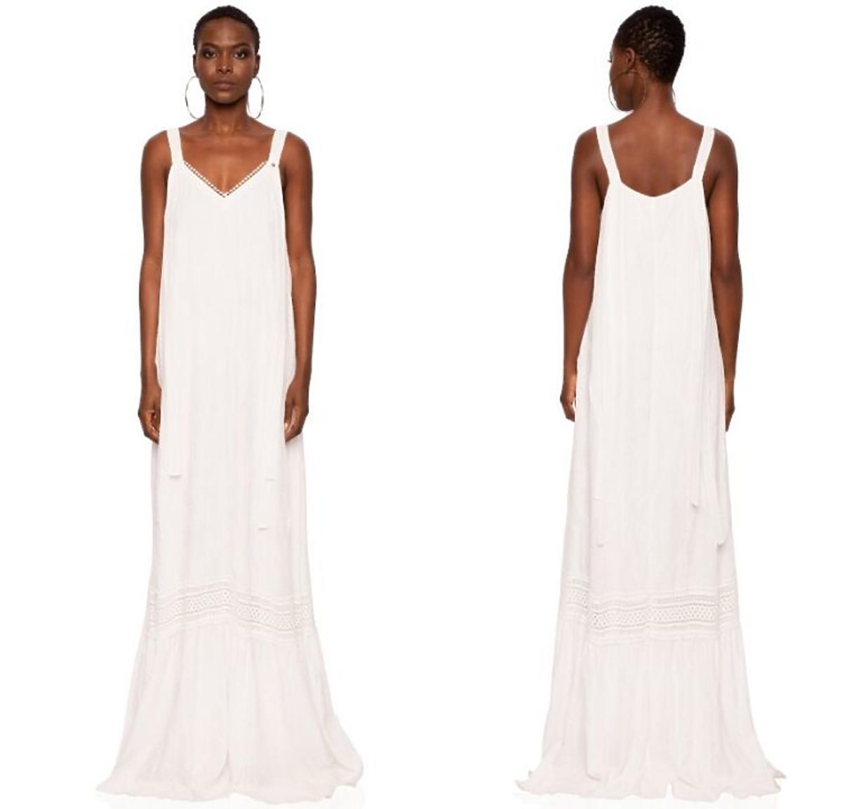 Biała sukienka firmy Nissa