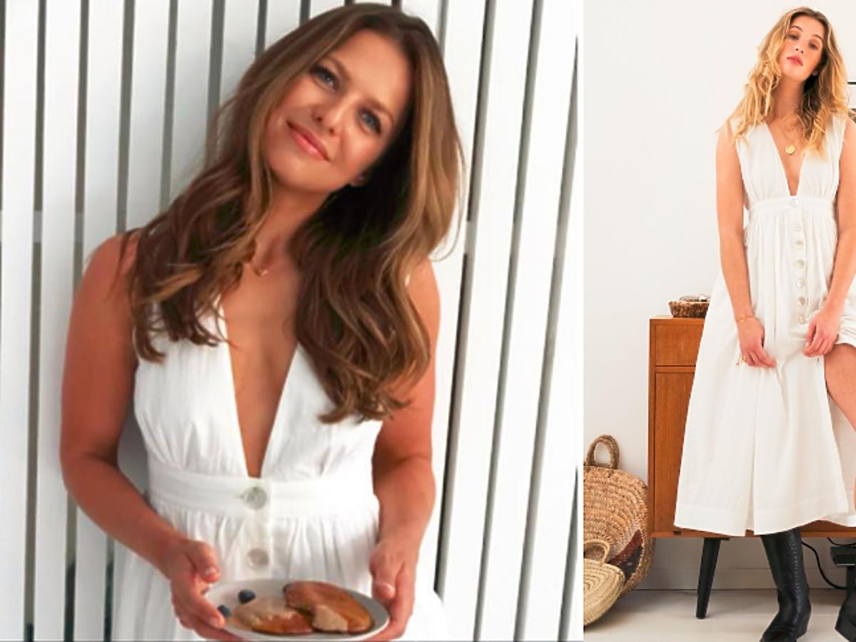 Biała sukienka Lewandowskiej - cena, gdzie kupić?