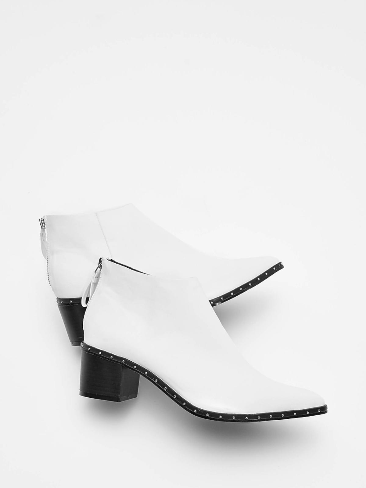 Białe botki Reserved cena 199 zł
