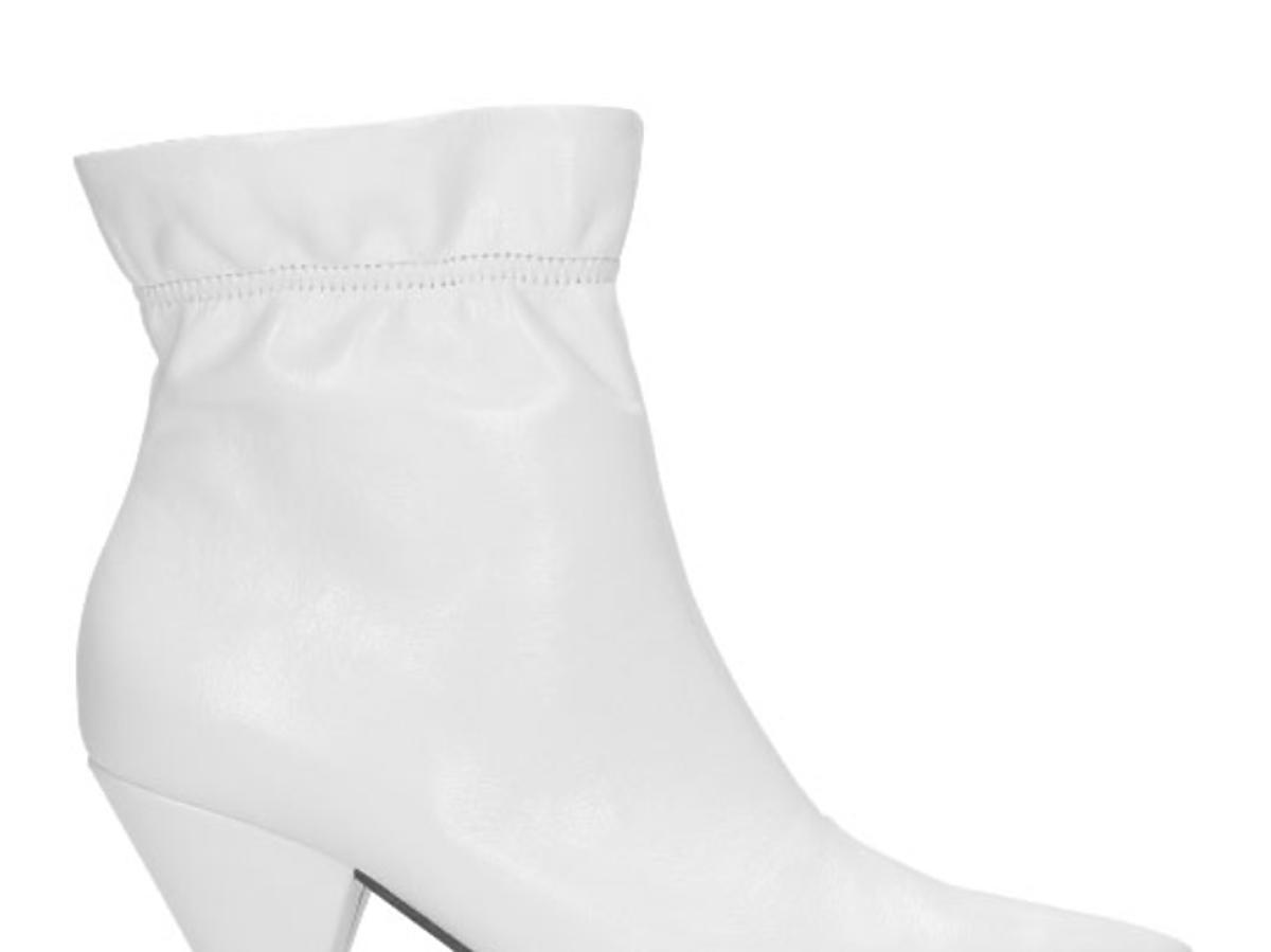 białe botki Wojas