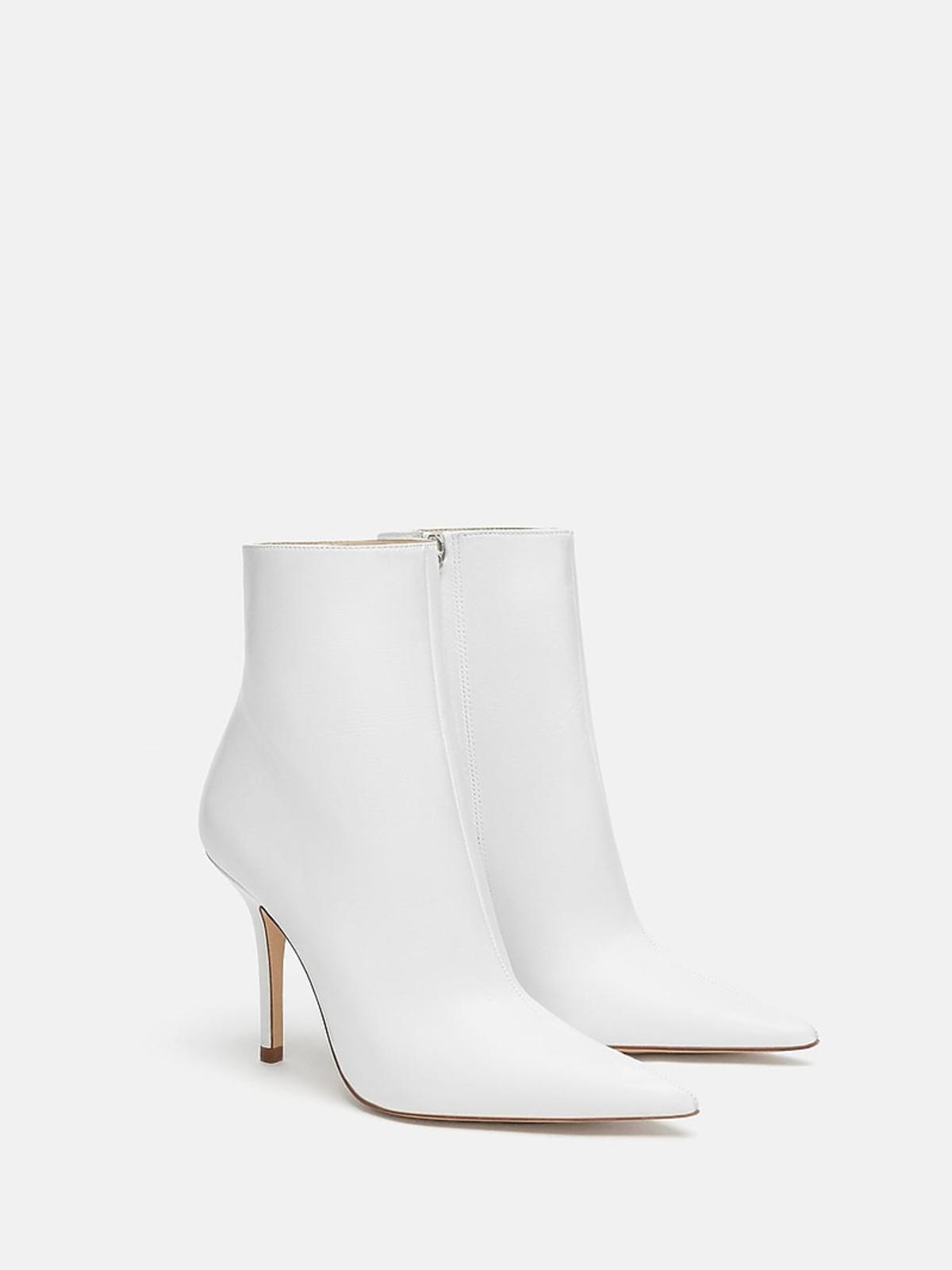 Białe botki Zara cena 359 zł