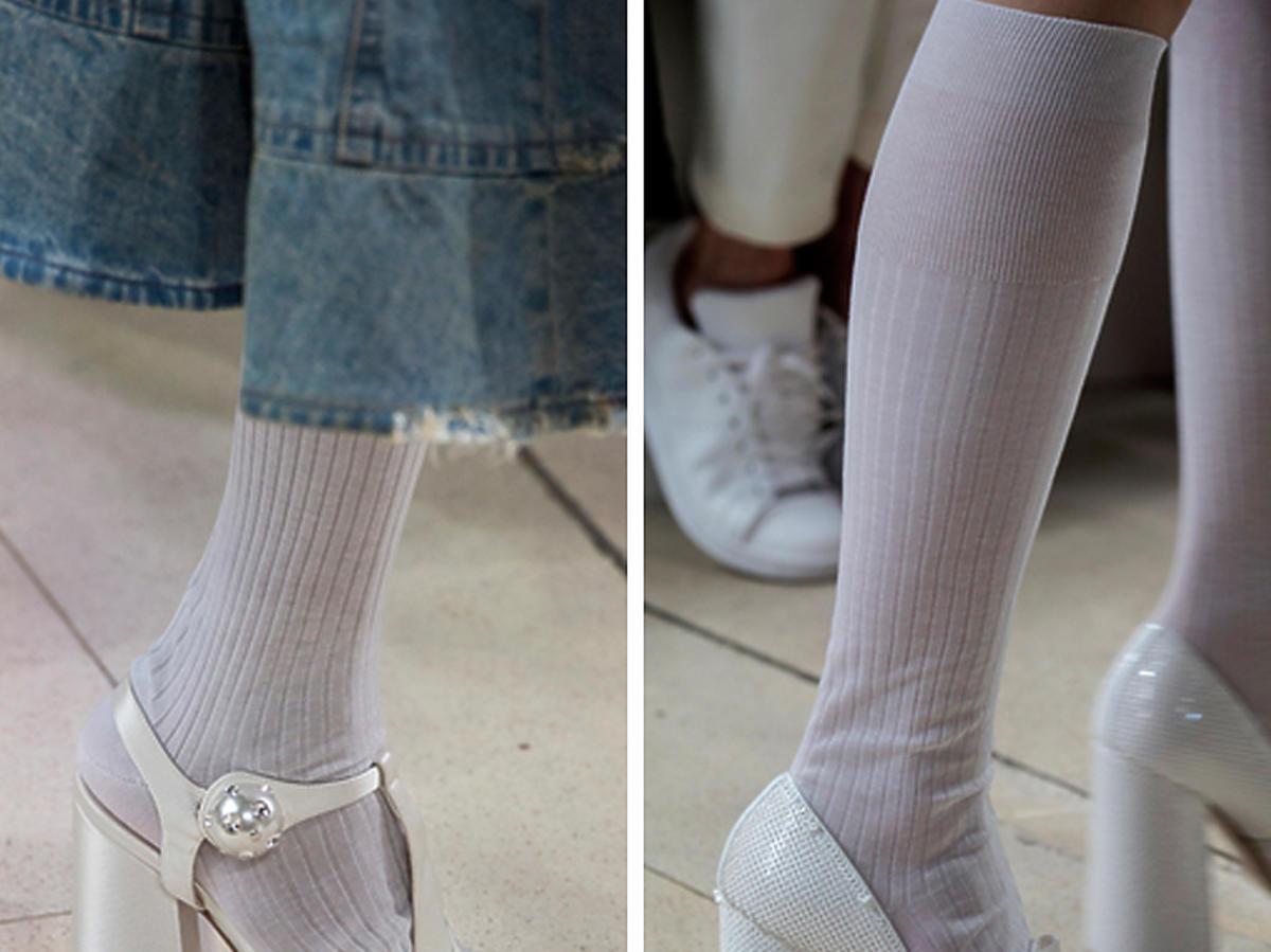 białe buty na wiosnę