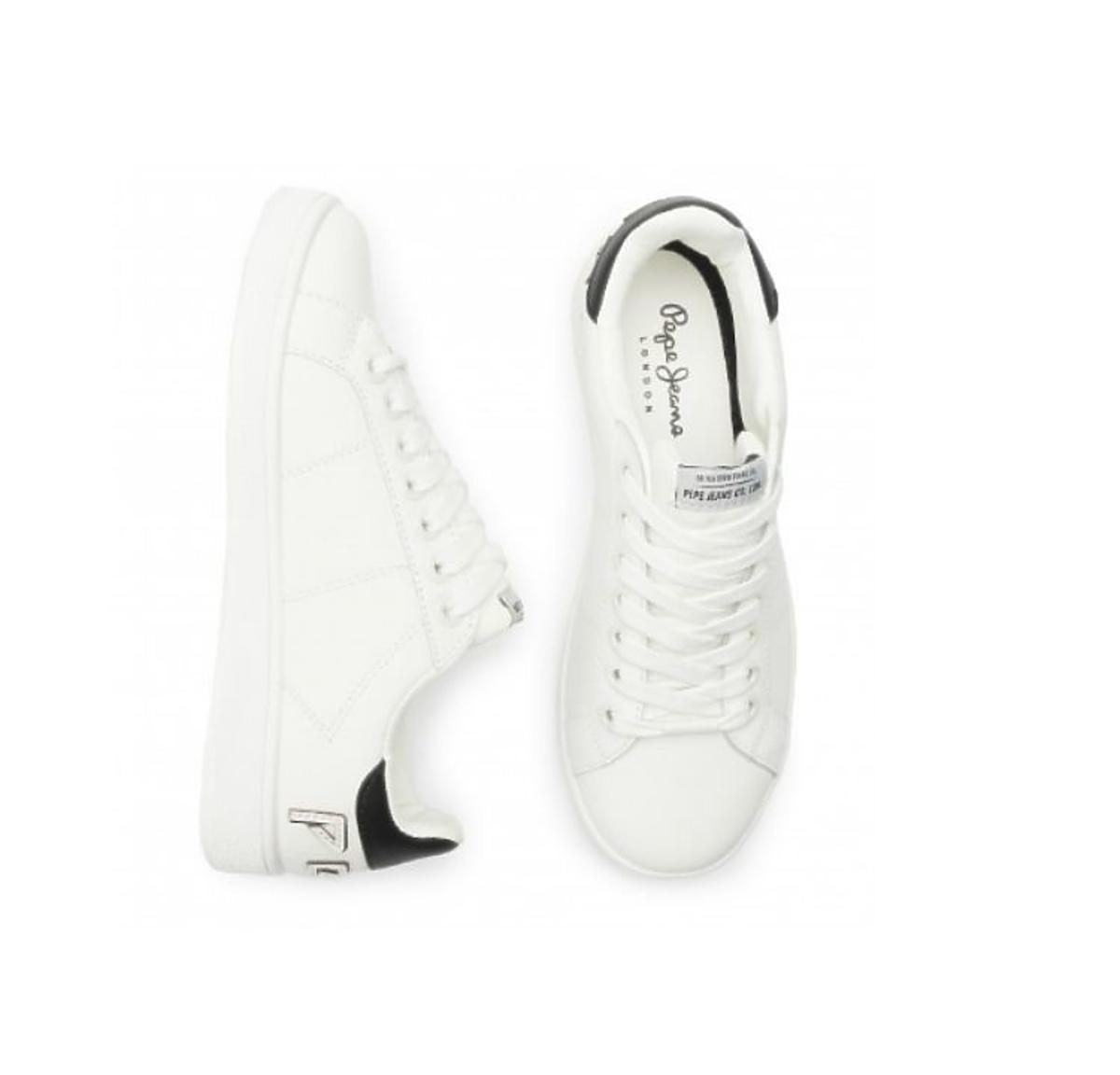 Białe sneakersy Pepe Jeans  wyprzedaż eobuwie.pl