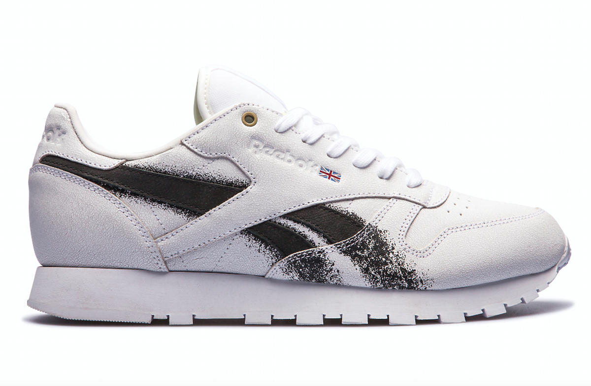 Białe sneakersy, Reebok Classic x Montana Cans, 499,99 zł