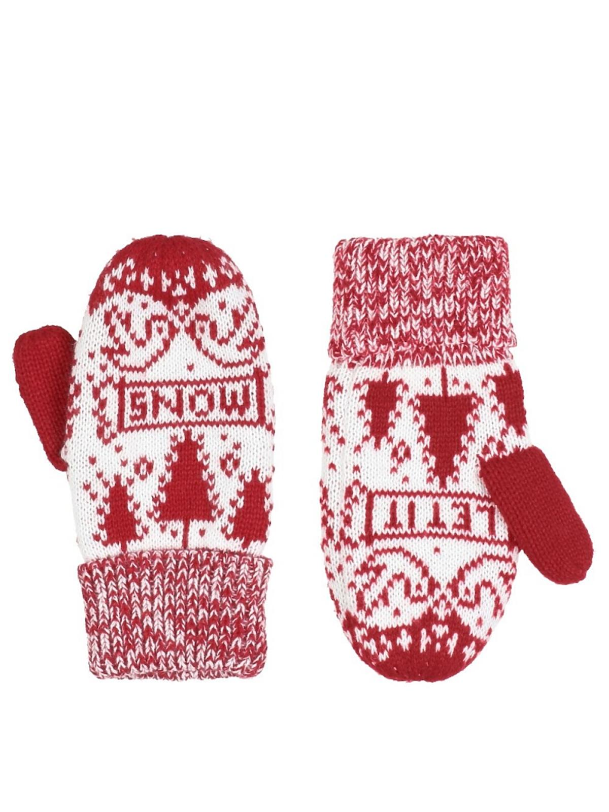 biało-czerwone rękawiczki