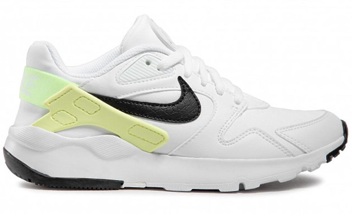 Biało-żółto-czarne sneakersy Nike
