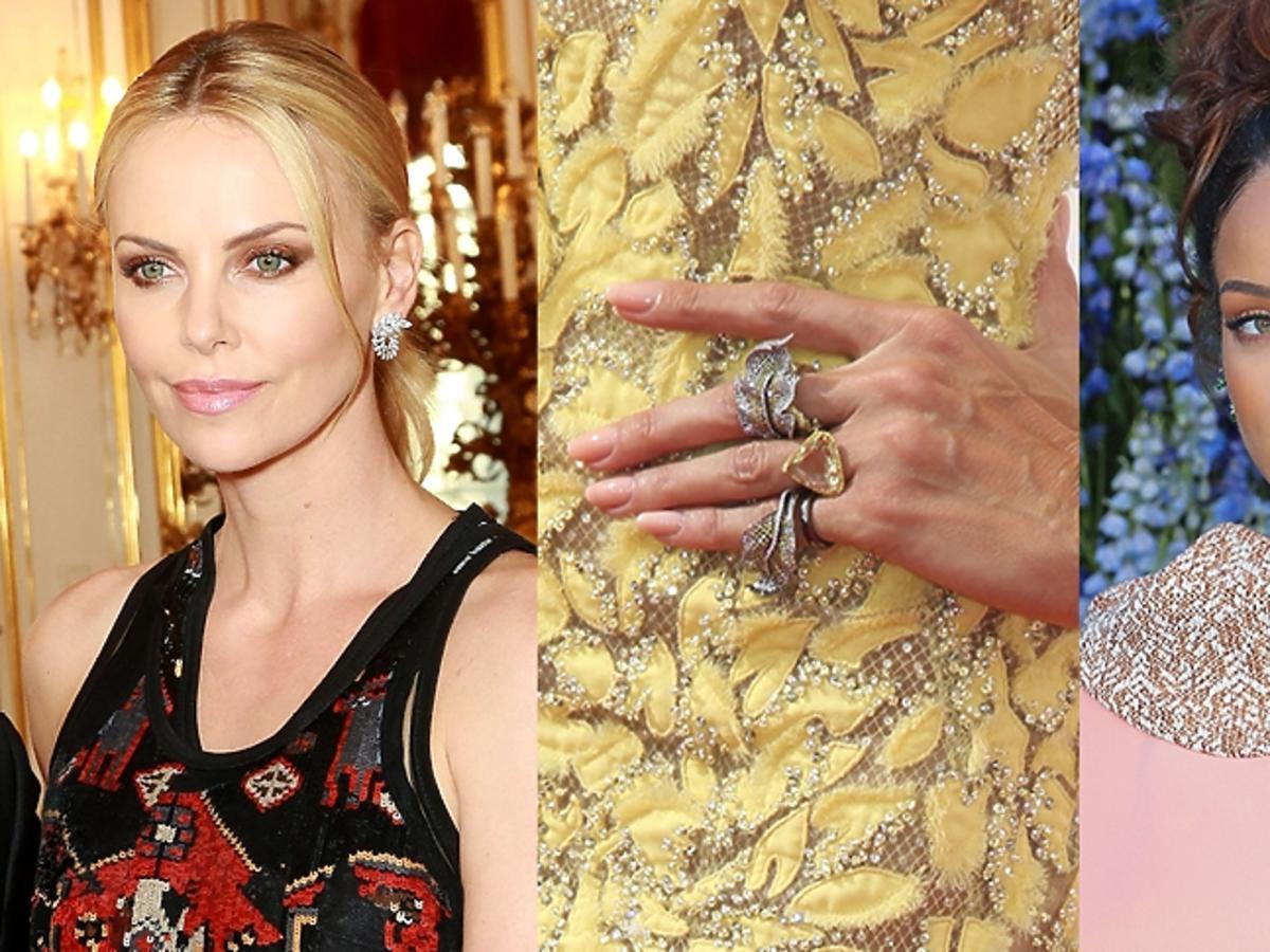 Biżuteria inspirowana naturą: Charlize Theron, pierścionek Heidi Klum, Rihanna