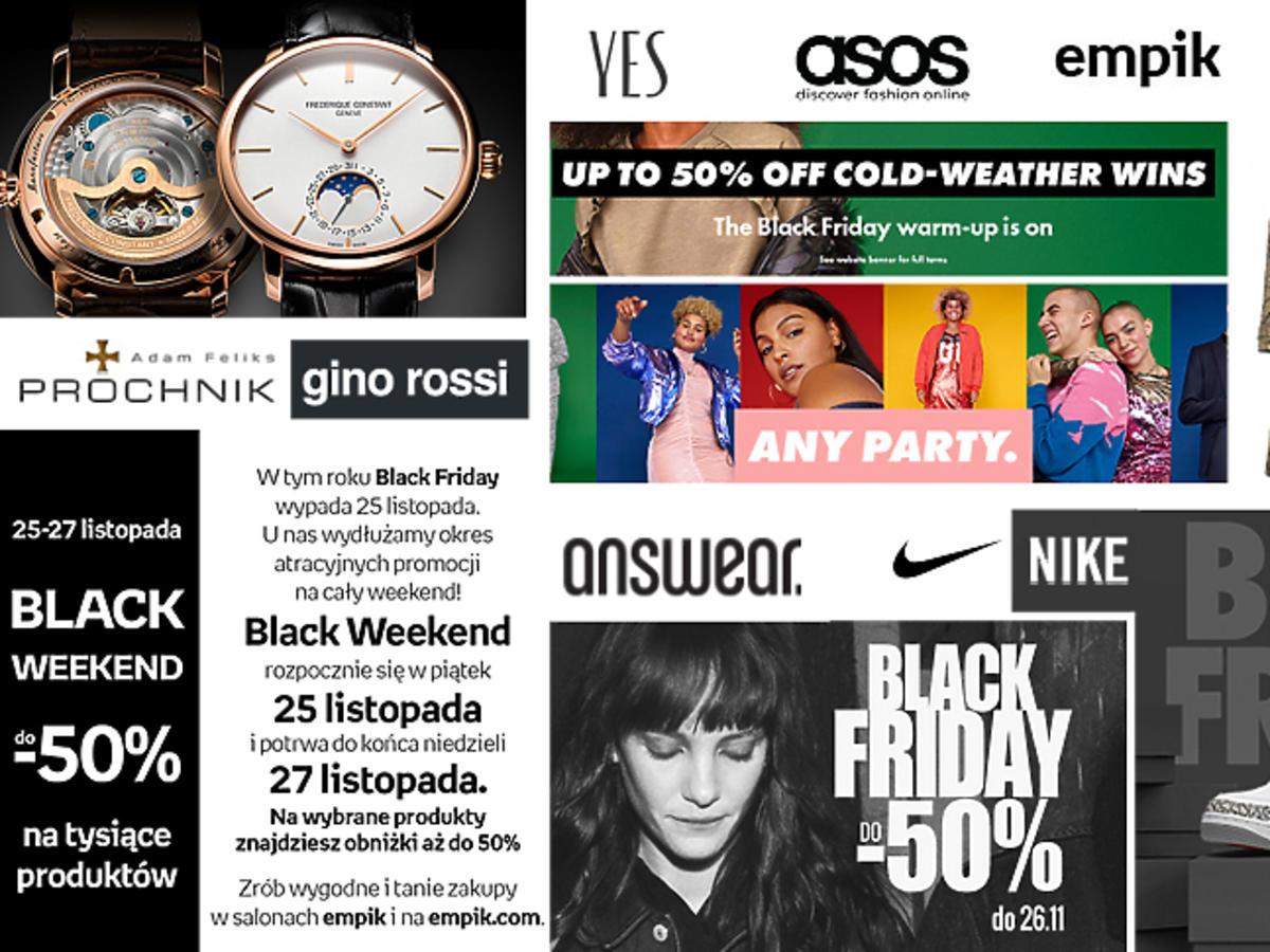 Black Friday 2016 Polska - promocje popularne sklepy sieciówki i online