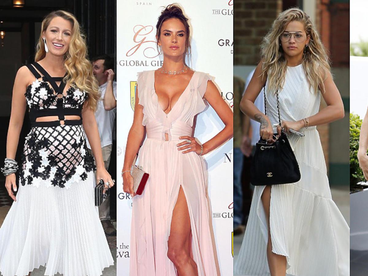 Blake Lively, Alessandra Ambrosio, Rita Ora, Pipa Middleton