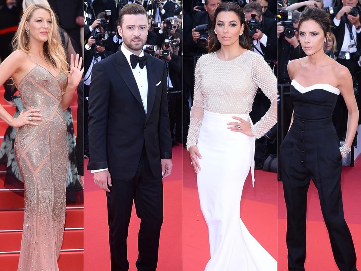Blake Lively, Justin Timberlake, Eva Longoria, Victoria Beckham