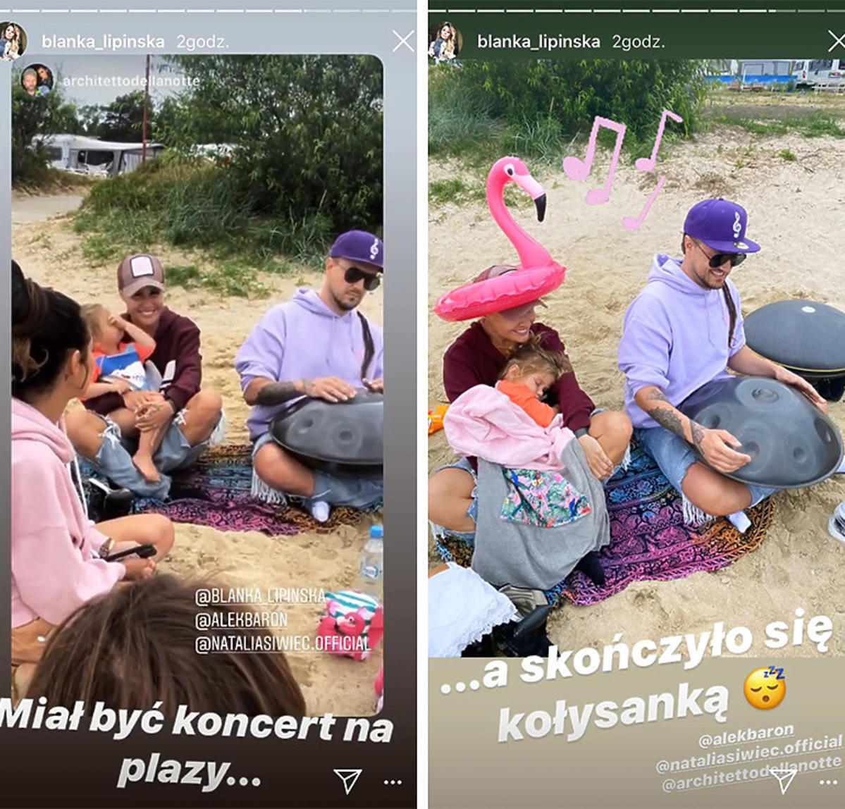 Blanka Lipińska i Baron opiekują się córką Natalii Siwiec