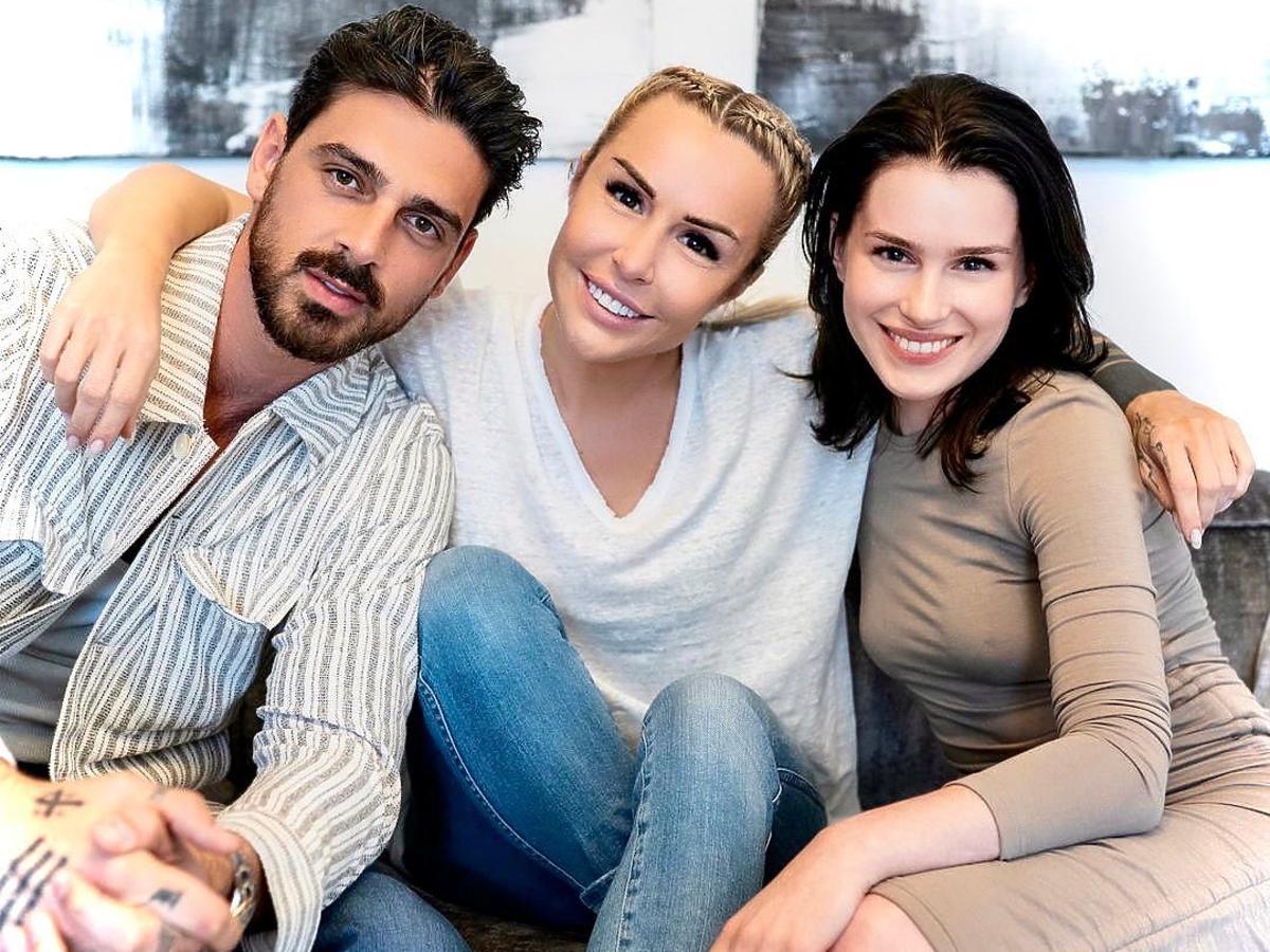 "Blanka Lipińska, Michelle Morrone i Anna-Maria Sieklucka na planie ""Ten dzień"" drugiej części ""365 dni"""