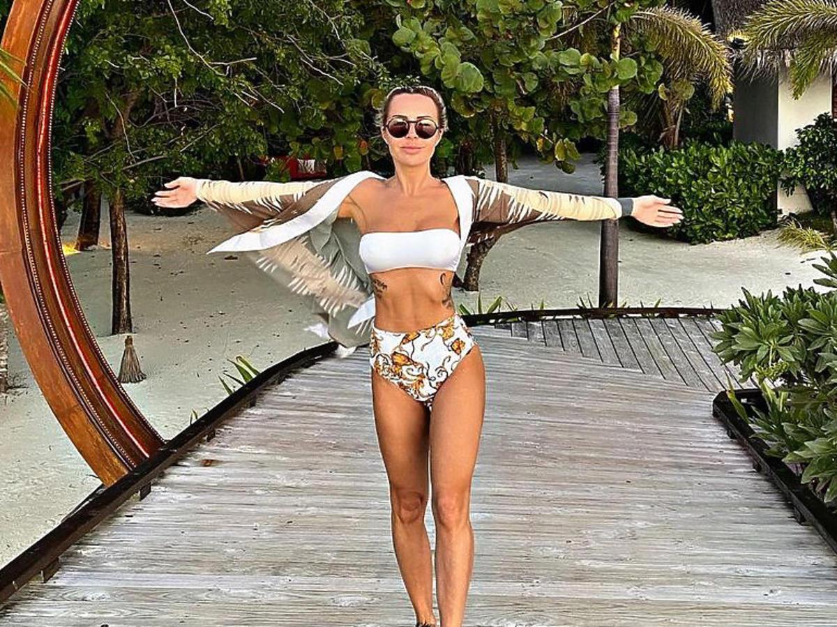 Blanka Lipińska na rajskich wakacjach na Zanzibarze