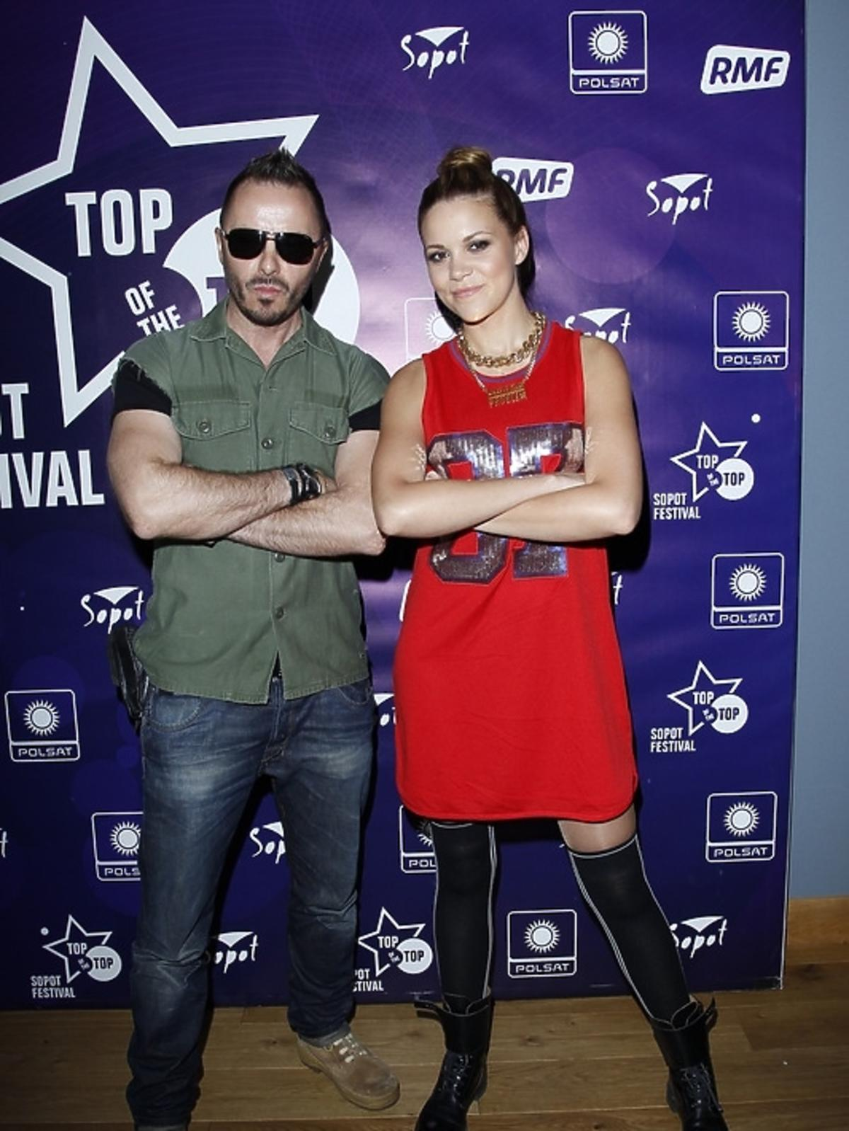 Blue Cafe podczas konferencji Sopot Top of the Top Festival 2013