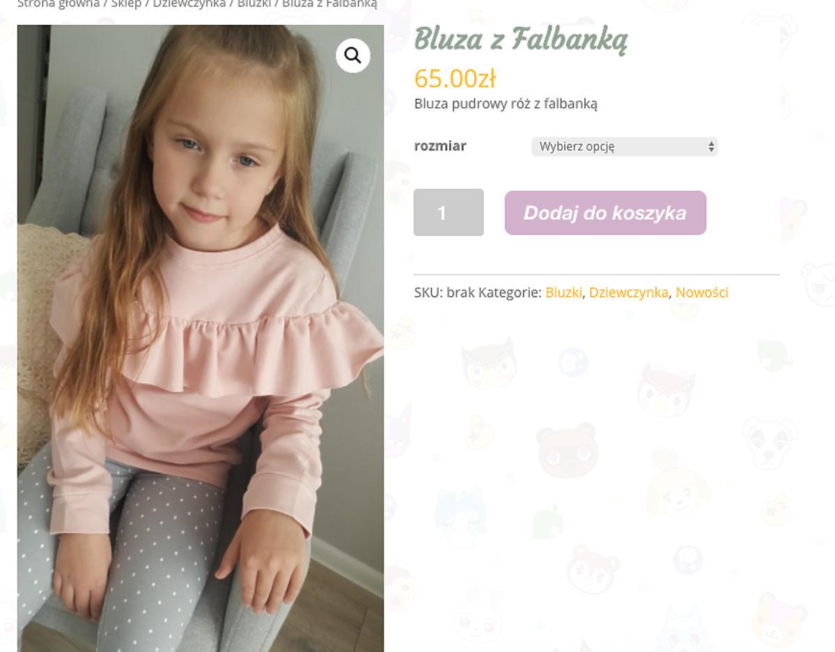 bluza Klary Lewandowskiej