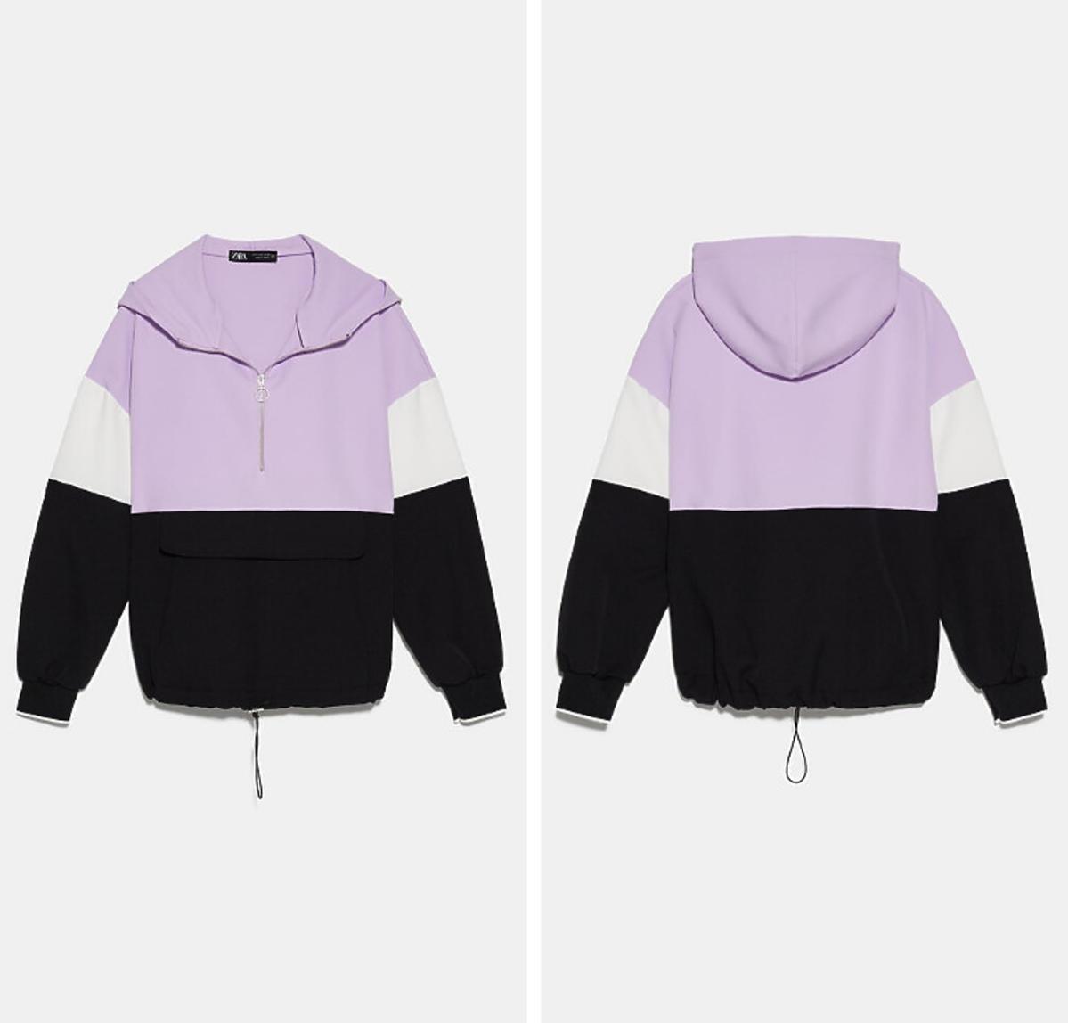 Bluza z suwakiem Zara