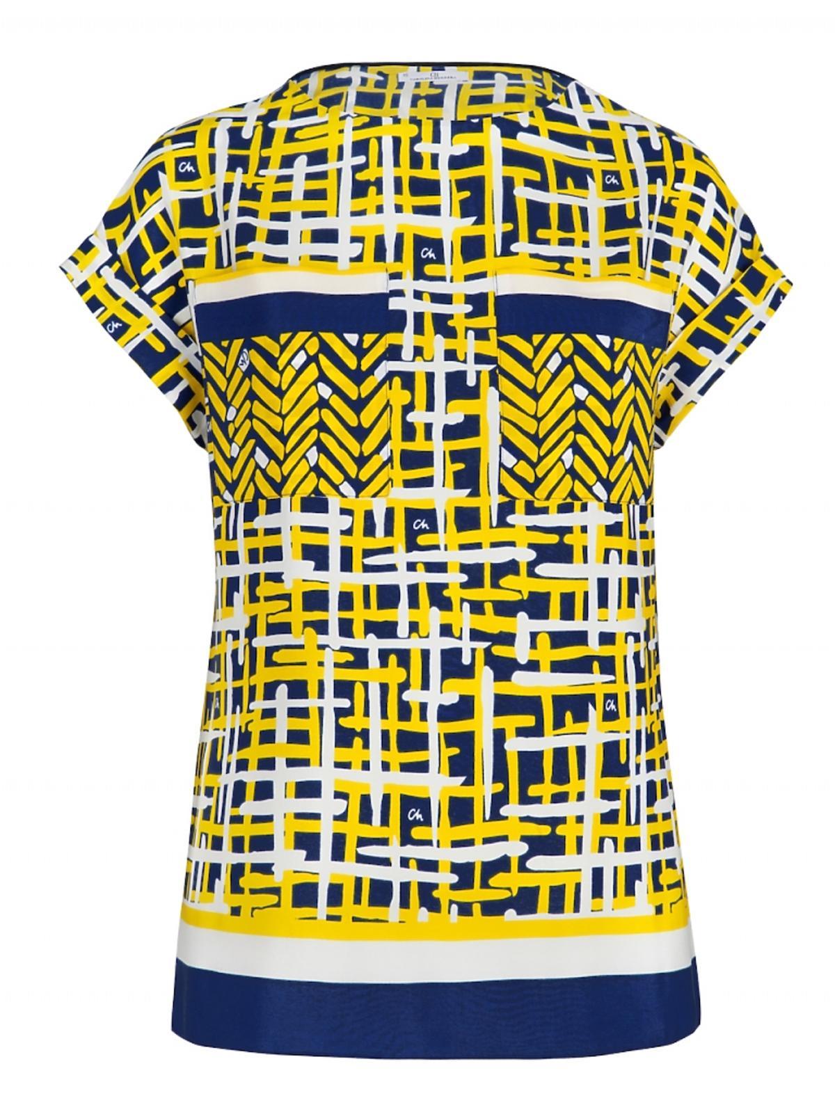 Bluzka w kolorowe wzory