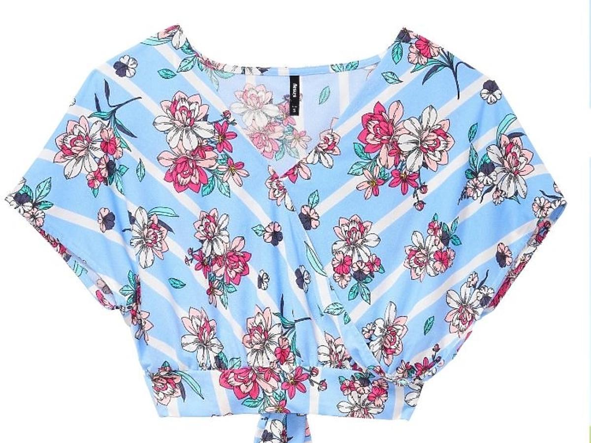 bluzka w kwiatki Sinsay 39,99 zł