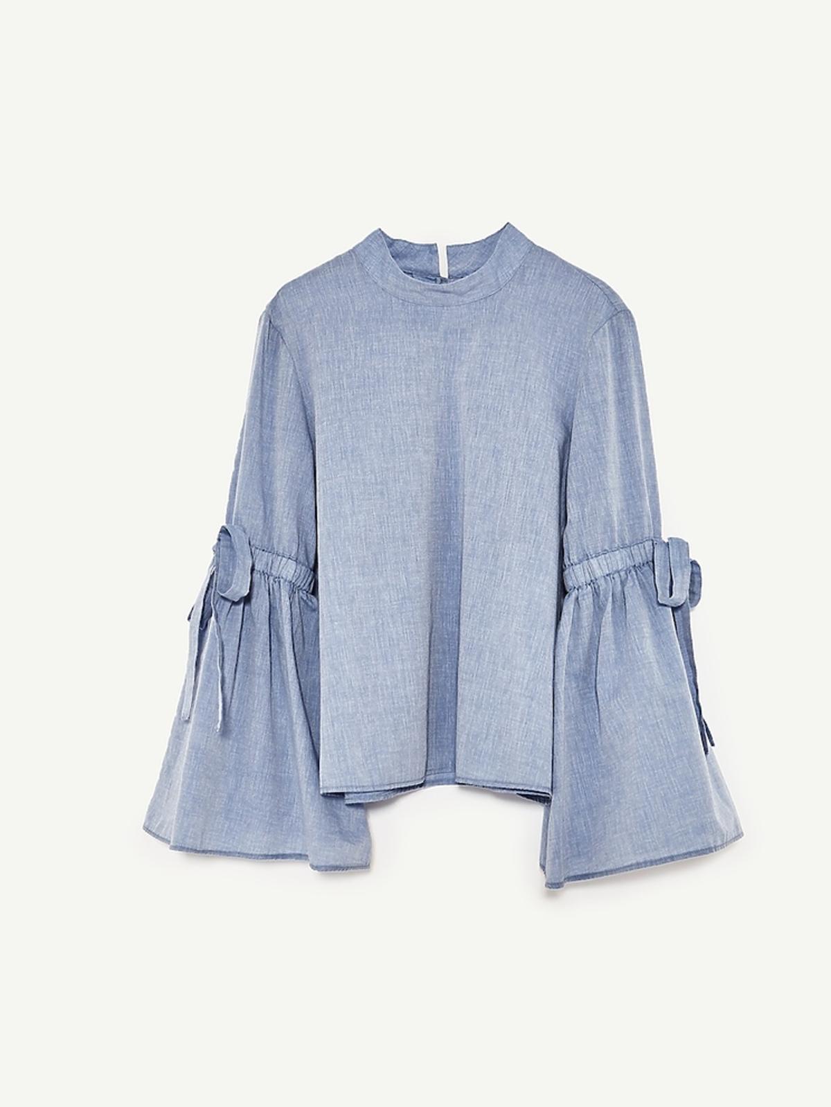 Bluzka z szerokimi rękawami Zara, 119 zł