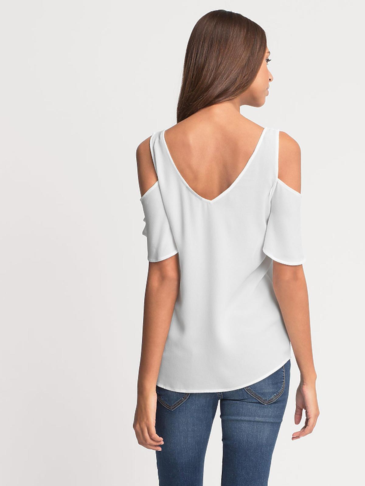 Bluzka z wycięcami na ramiona, C&A, 49,90 zł