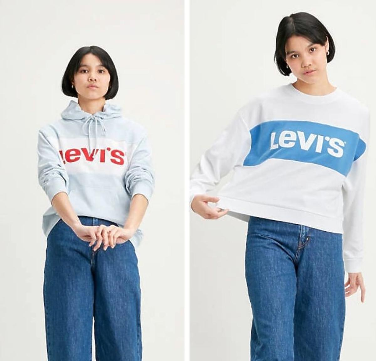 Bluzy Levis z logo