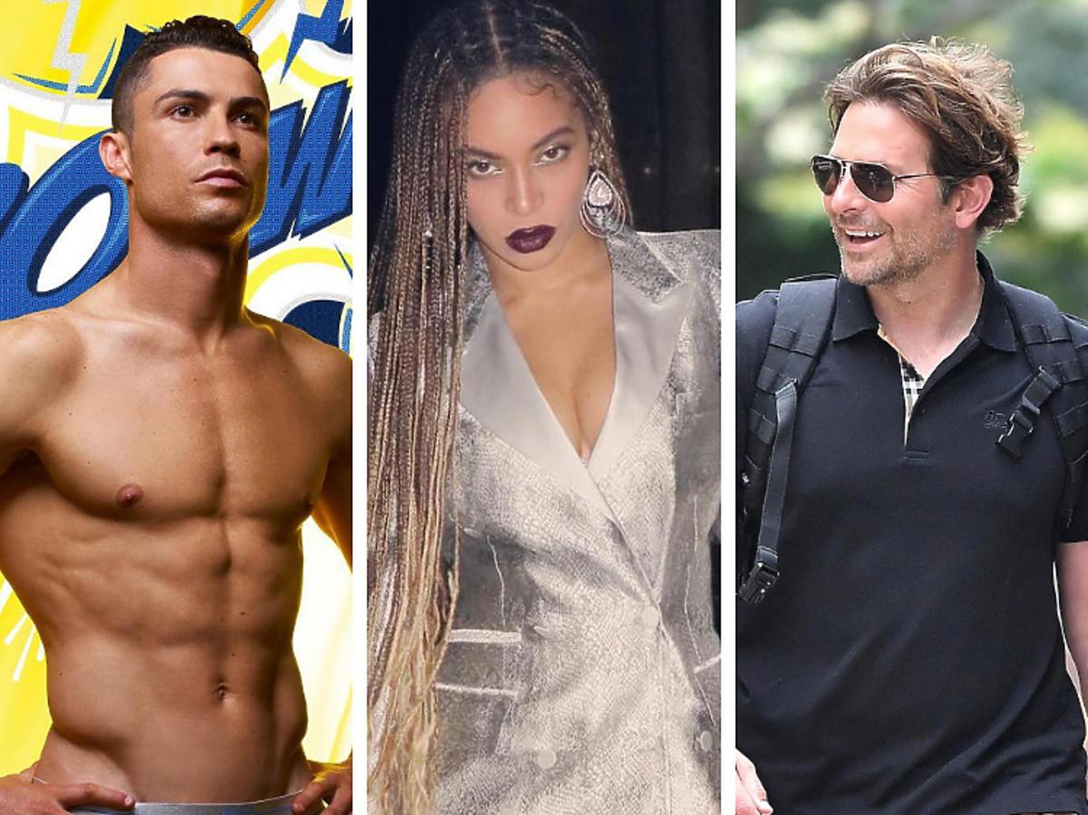 Bogate Gwiazdy Cooper Beyonce Ronaldo