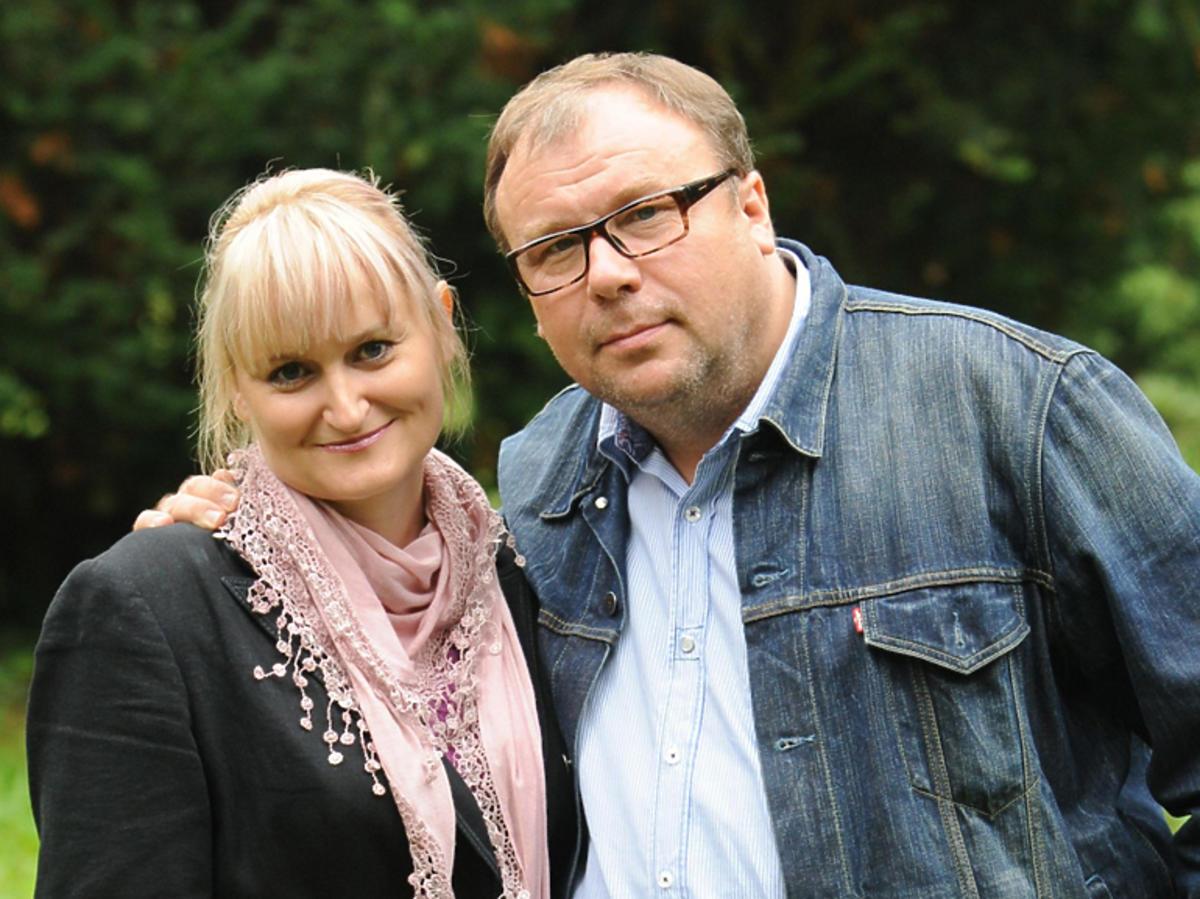 Bogdan Kalus z żoną