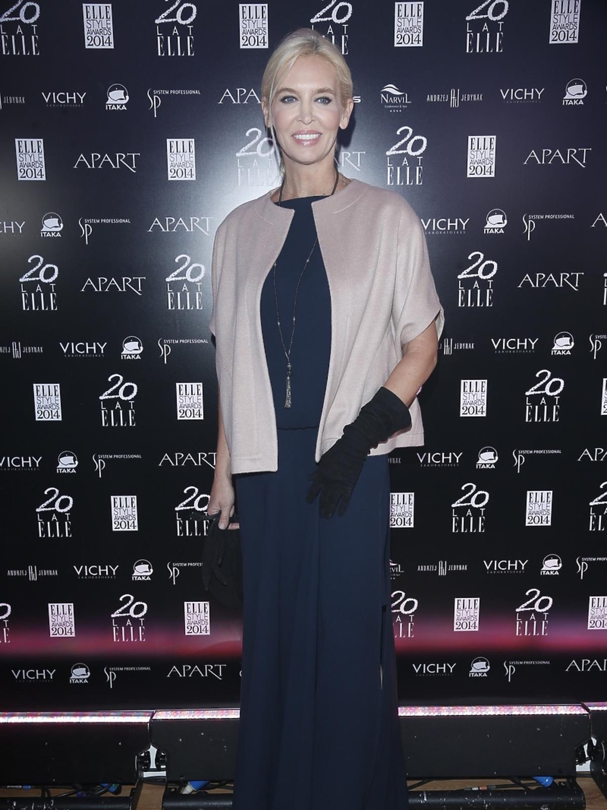 Bogna Sworowska na Elle Style Awards 2014